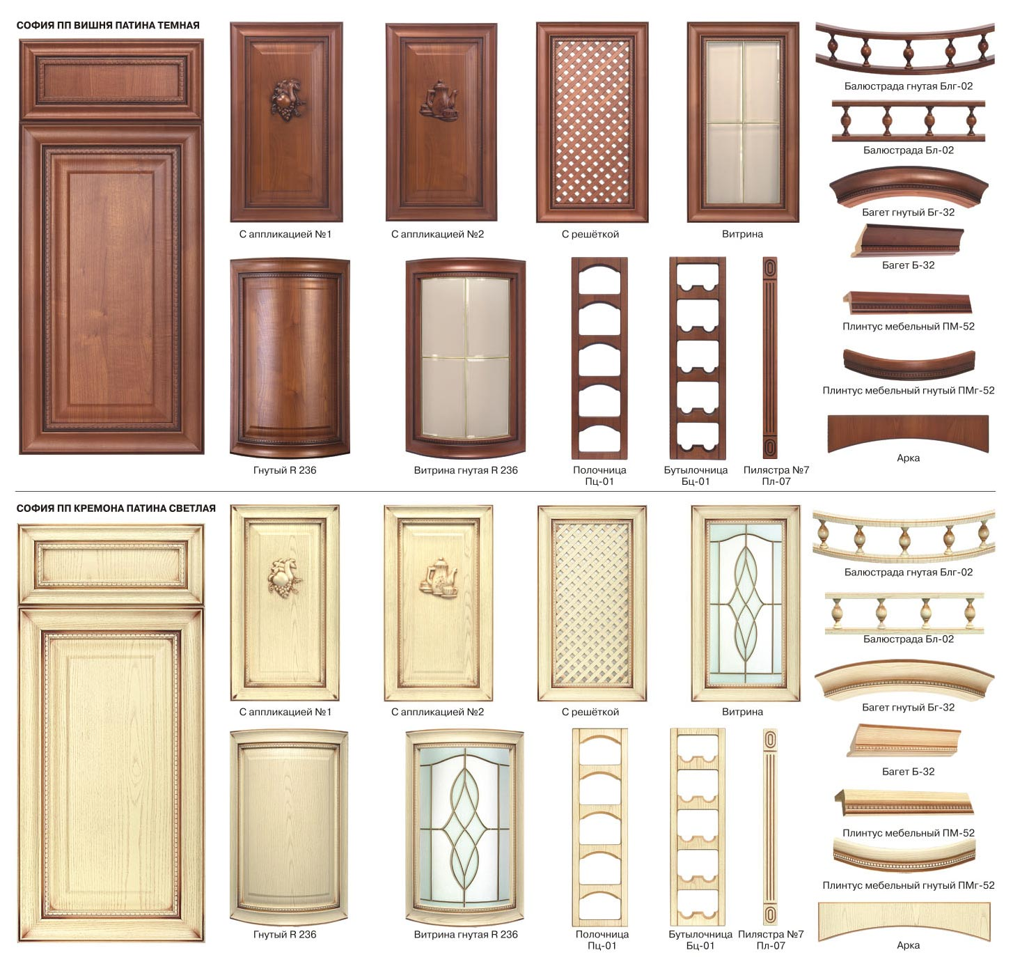 Фасады рамочные, фасады из алюминия - кухни на заказ в спб.