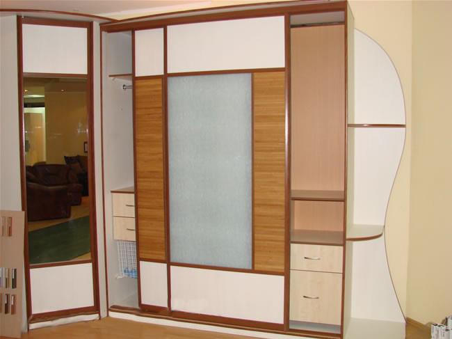 Комбинации со шкафами-купе мебель для дома.